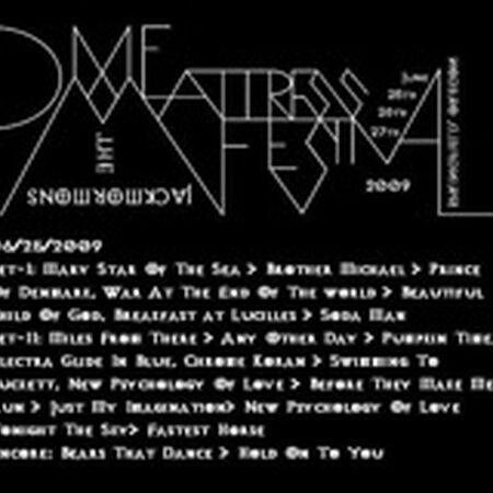 06/25/09 Dixie Mattress Festival, Springfield, OR