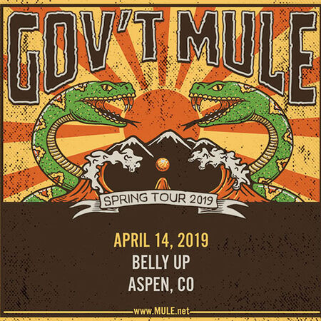 04/14/19 Belly Up, Aspen, CO