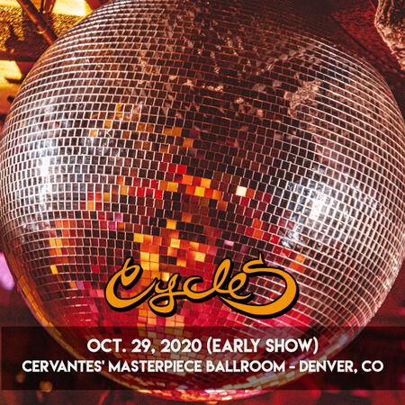 10/29/20 Cervantes' Masterpiece Ballroom - Early Show, Denver, CO