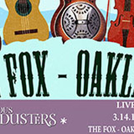 03/14/15 Fox Theater, Oakland, CA