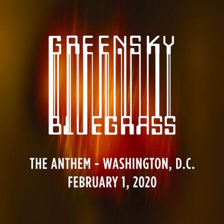 02/01/20 The Anthem, Washington, D.C.