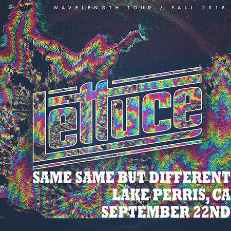 09/22/18 Same Same But Different, Lake Perris, CA