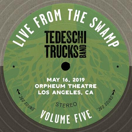 05/16/19 Orpheum Theatre, Los Angeles, CA