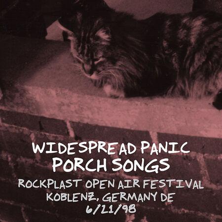 06/21/98 Rockplast Open Air Festival, Koblenz, DE