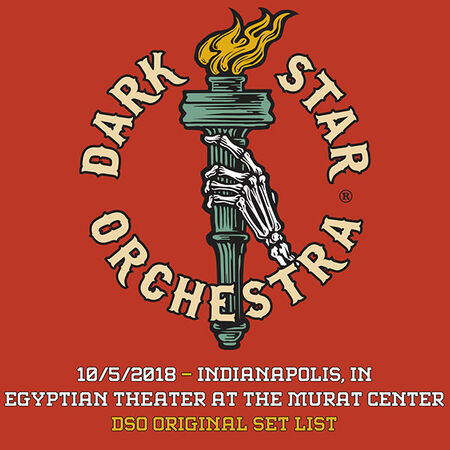 10/05/18 Egyptian Theater at the Murat Center, Indianapolis, IN