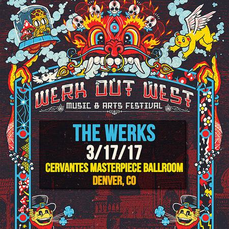 03/17/17 Werk Out West, Denver, CO