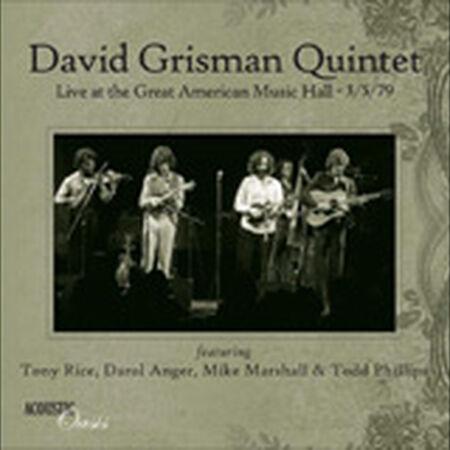 03/05/79 Great American Music Hall, San Francisco, CA