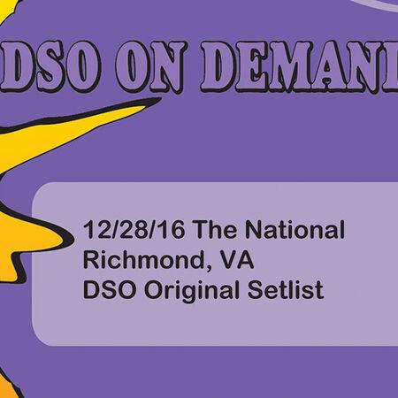 12/28/16 The National, Richmond, VA