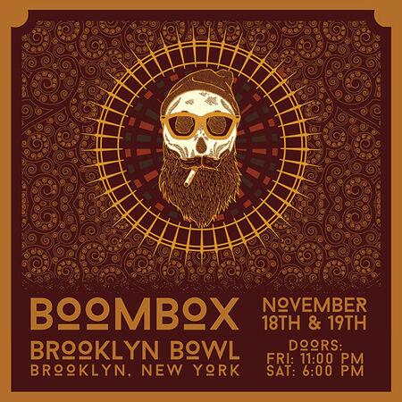 11/18/16 Brooklyn Bowl, Brooklyn, NY