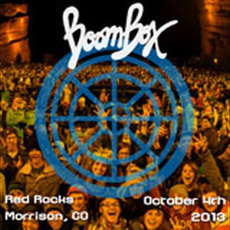 10/04/13 Red Rocks Amphitheatre, Morrison, CO