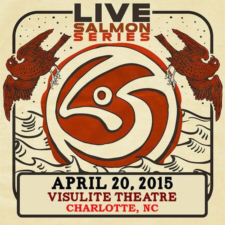 04/20/15 Visulite Theatre, Charlotte, NC