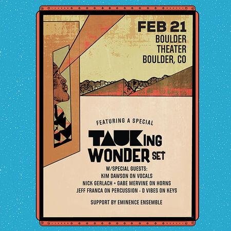 02/21/20 Boulder Theater, Boulder, CO