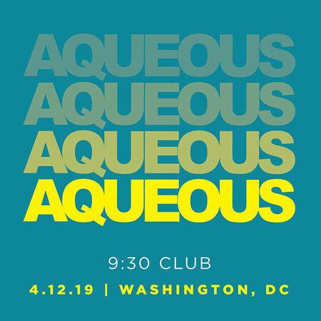 04/12/19 9:30 Club, Washington, DC
