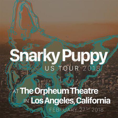 02/27/18 Orpheum Theater, Los Angeles, CA