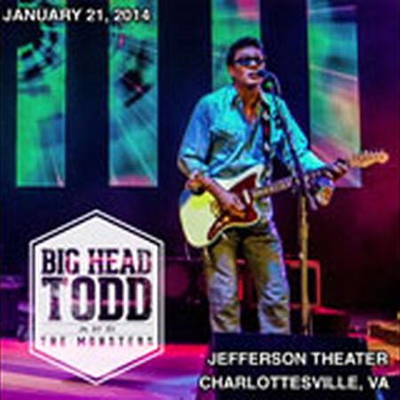 01/21/14 Jefferson Theater, Charlottesville, VA