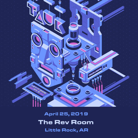 04/25/19 The Rev Room, Little Rock, AR