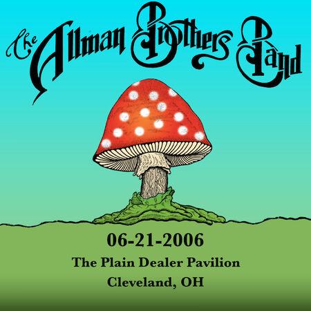 06/21/06 The Plain Dealer Pavilion, Cleveland, OH
