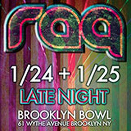 01/24/14 Brooklyn Bowl, Brooklyn, NY