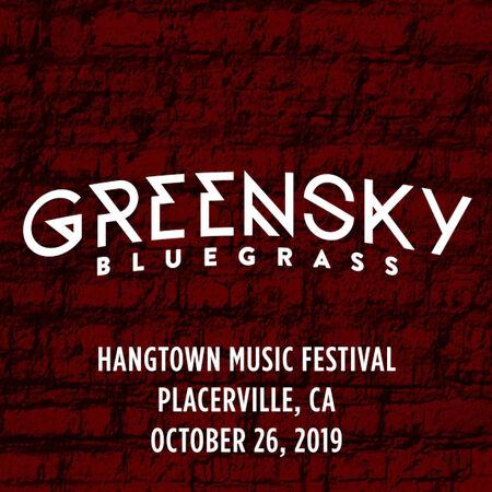 10/26/19 Hangtown Music Festival, Placerville, CA