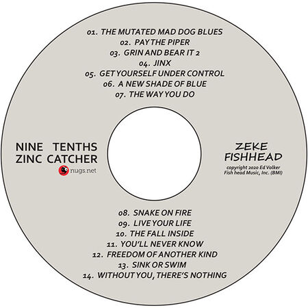 Nine Tenths Zinc Catcher