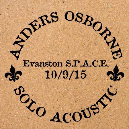 10/09/15 Space, Evanston, IL