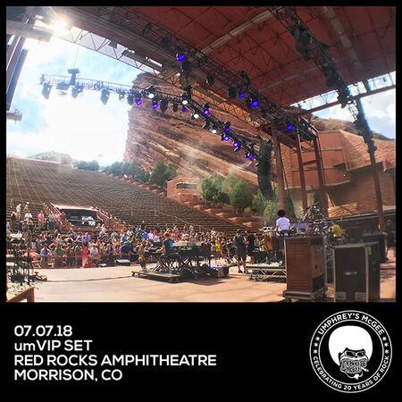 07/07/18 Red Rocks, Morrison, CO