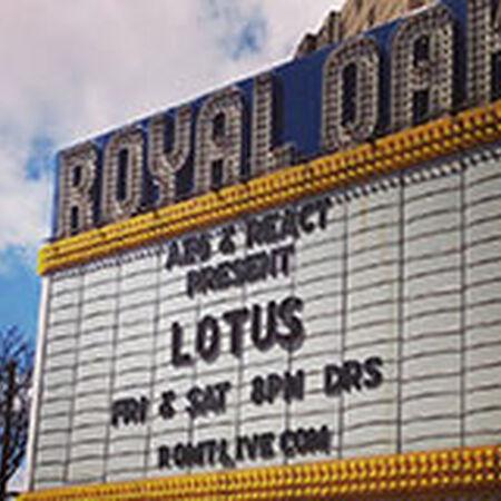04/11/15 Royal Oak Music Theatre, Royal Oak, MI