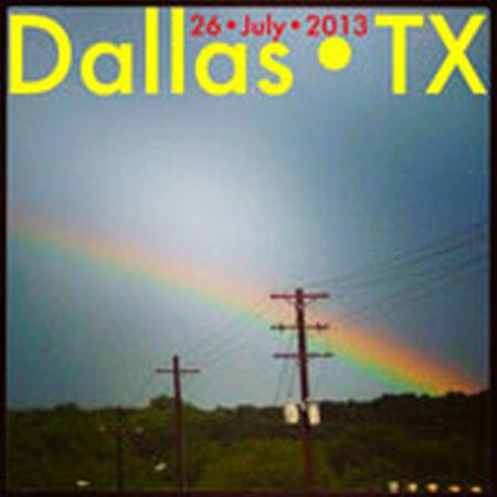 07/26/13 Poor David's Pub, Dallas, TX