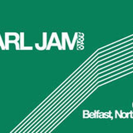 06/23/10 Odyssey Arena, Belfast, GB