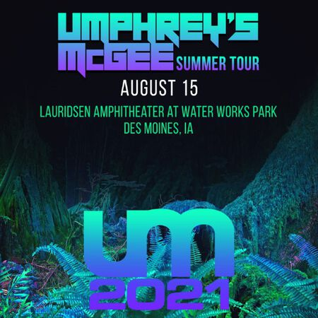 08/15/21 Lauridsen Amphitheater at Water Works Park, Des Moines, IA