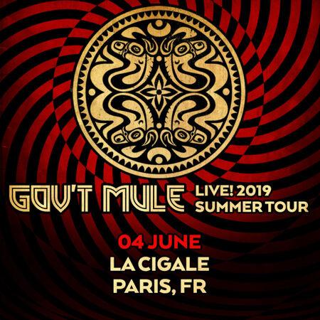 06/04/19 La Cigale, Paris, FR