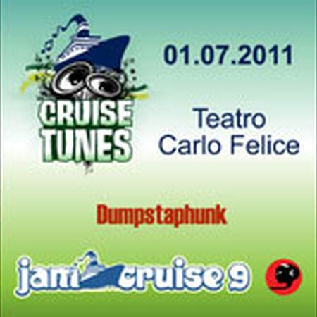01/07/11 Teatro Carlo Felice, Jam Cruise, US
