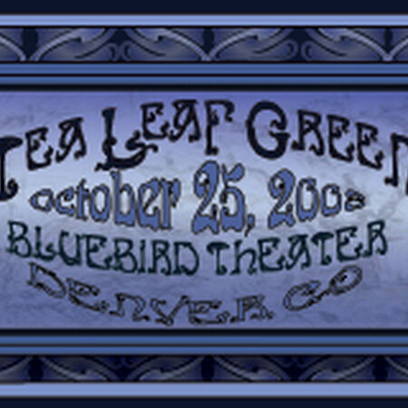 10/25/08 Bluebird Theater, Denver, CO