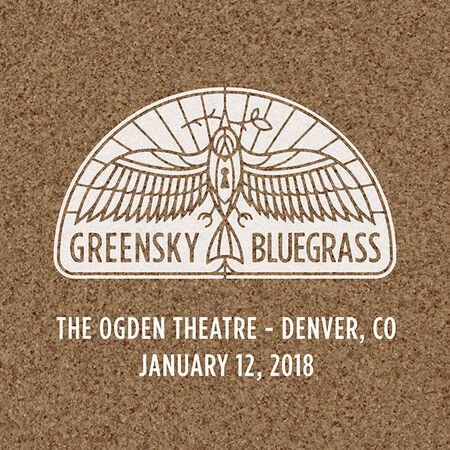 01/12/18 Ogden Theatre, Denver, CO