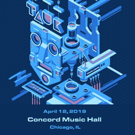 04/12/19 Concord Music Hall, Chicago, IL