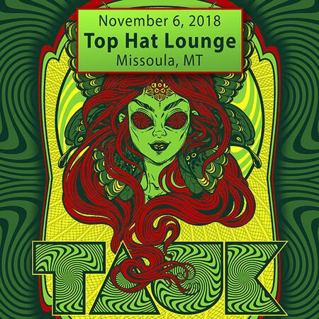 11/06/18 Top Hat Lounge, Missoula, MT