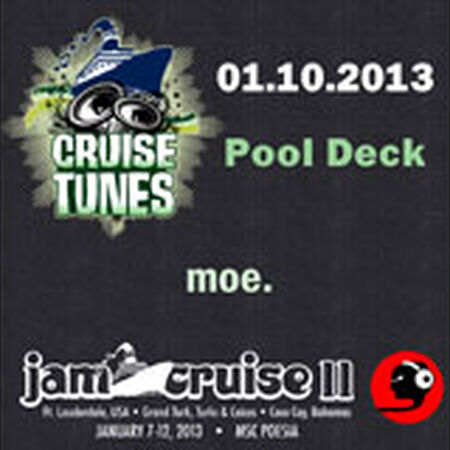 01/10/13 Magic Hat Wind Stage, Jam Cruise, US
