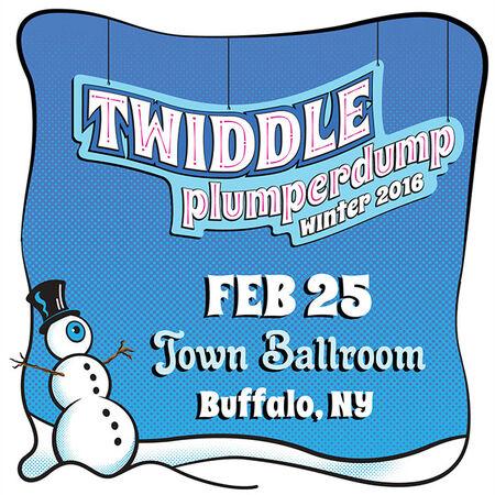 02/25/16 The Town Ballroom, Buffalo, NY