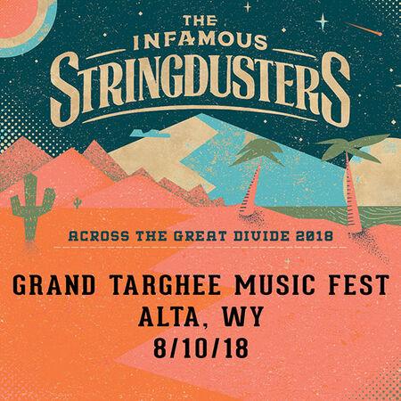 08/10/18 Grand Targhee Bluegrass Festival, Alta, WY