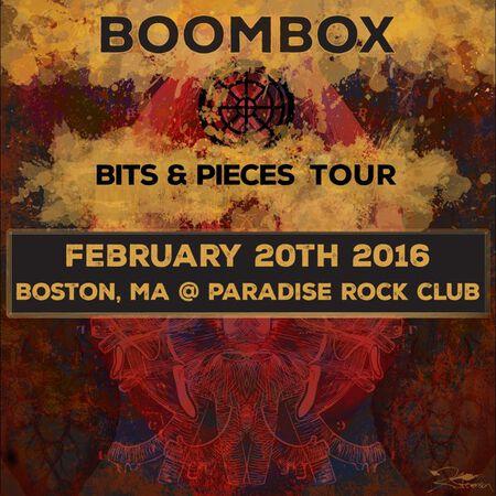 02/20/16 Paradise Rock Club, Boston, MA