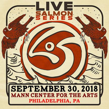 09/30/18 Mann Center For The Arts, Philadelphia, PA