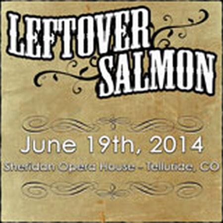 06/19/14 Sheridan Opera House, Telluride, CO