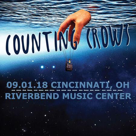 09/01/18 Riverbend Music Center, Cincinnati, OH
