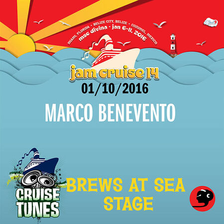01/10/16 Brews at Sea Stage, Jam Cruise, US