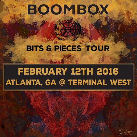 02/12/16 Terminal West, Atlanta, GA