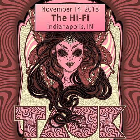 11/14/18 The Hi-Fi, Indianapolis, IN