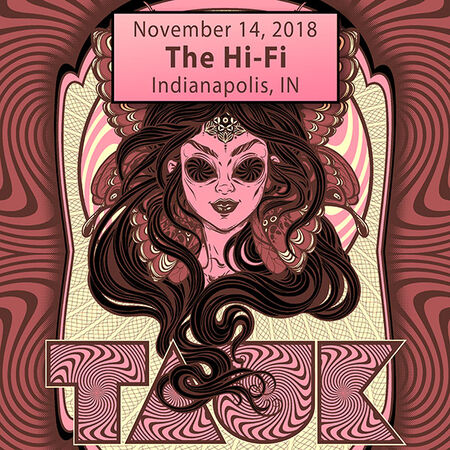 11/14/18 The Hi-Fi, Indianapolis, IN