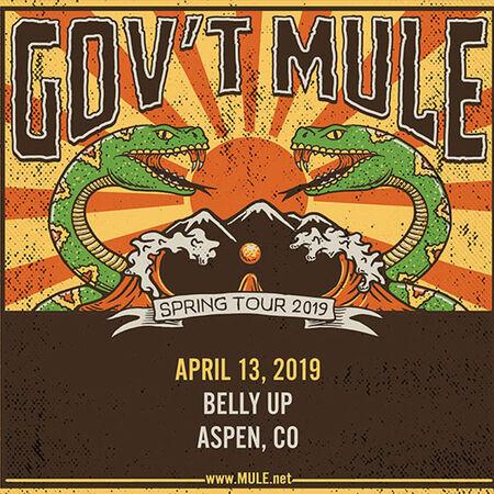 04/13/19 Belly Up, Aspen, CO