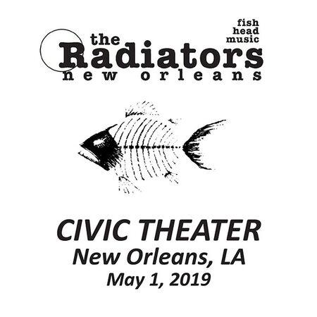 05/01/19 The Civic Theatre, New Orleans, LA