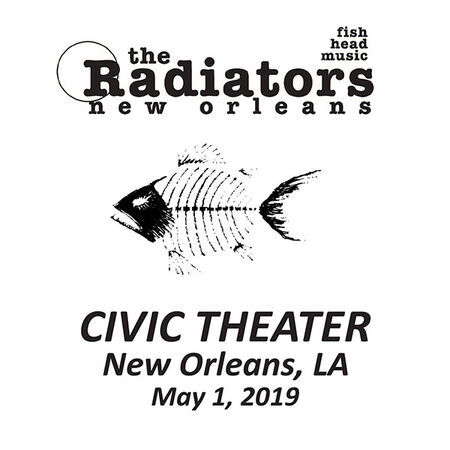 05/01/19 The Civic Theatre, New Orleans, LA